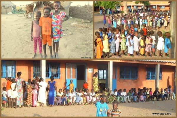 ¡More children, more classrooms!